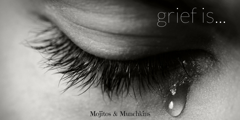 Grief is…