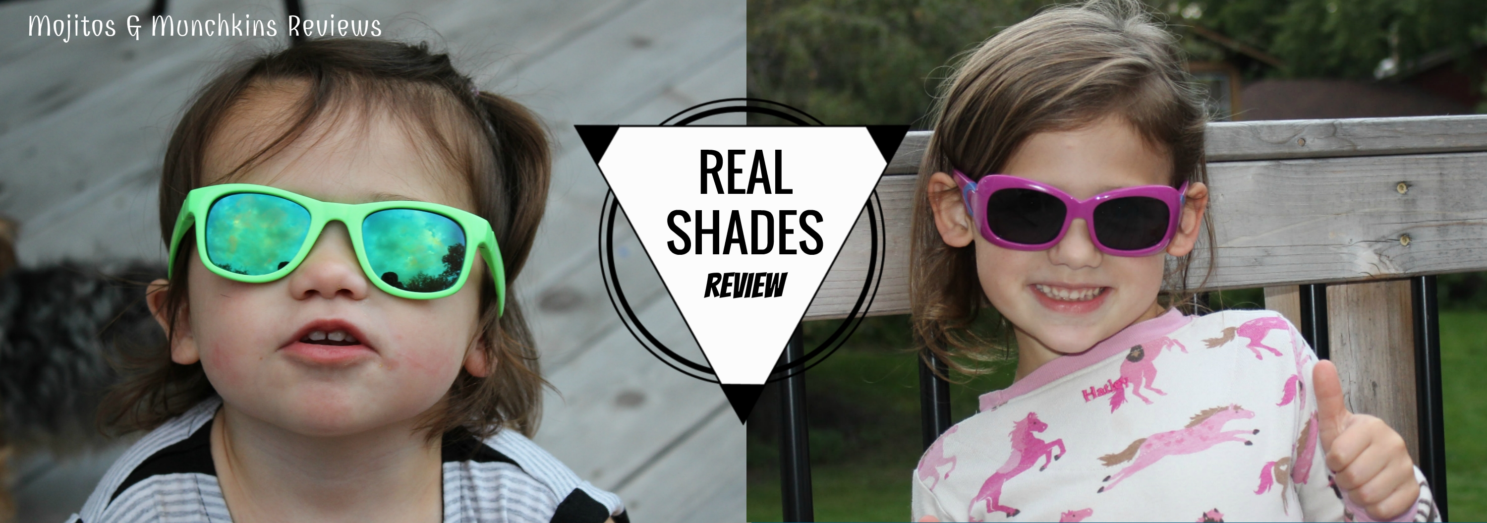 Review:: REAL SHADES Kids' Sunglasses for REAL kids