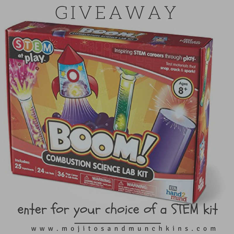 Review {and GIVEAWAY} :: STEM At Play kits