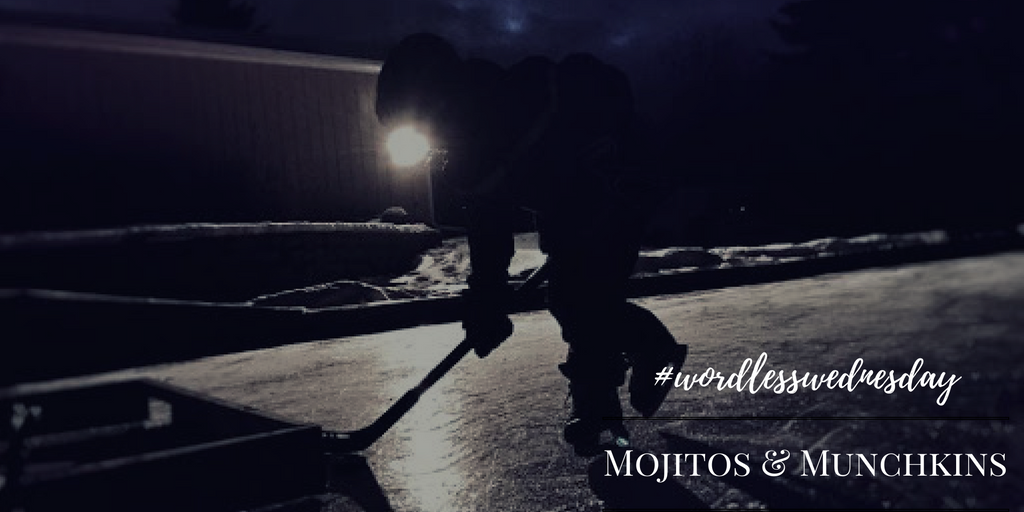 Wordless Wednesday:: Late Night Hockey