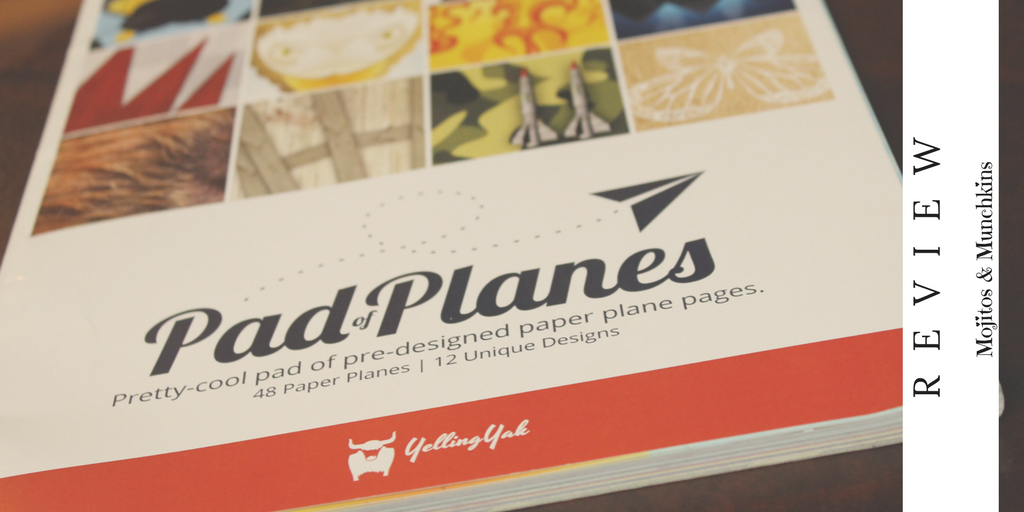 Review:: Pad Of Planes by Yelling Yak