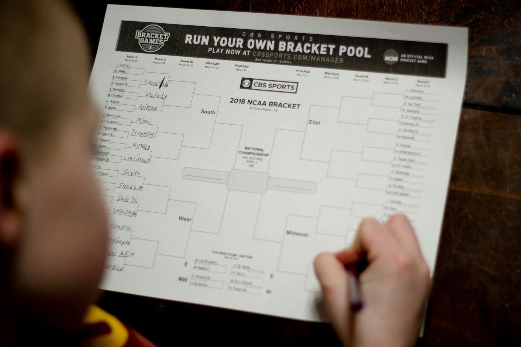 The Family Guide to Filling Out NCAA Brackets