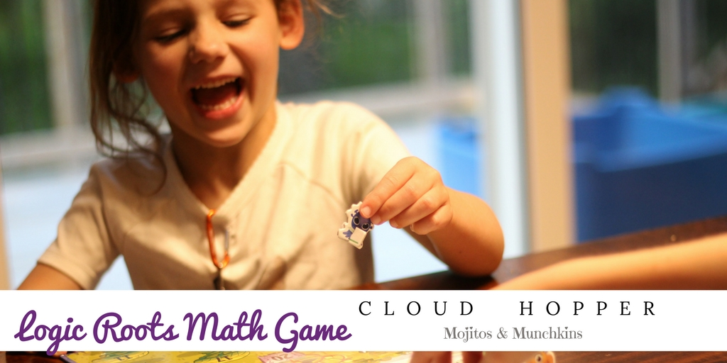 Review:: Cloud Hopper {Math} Board Game