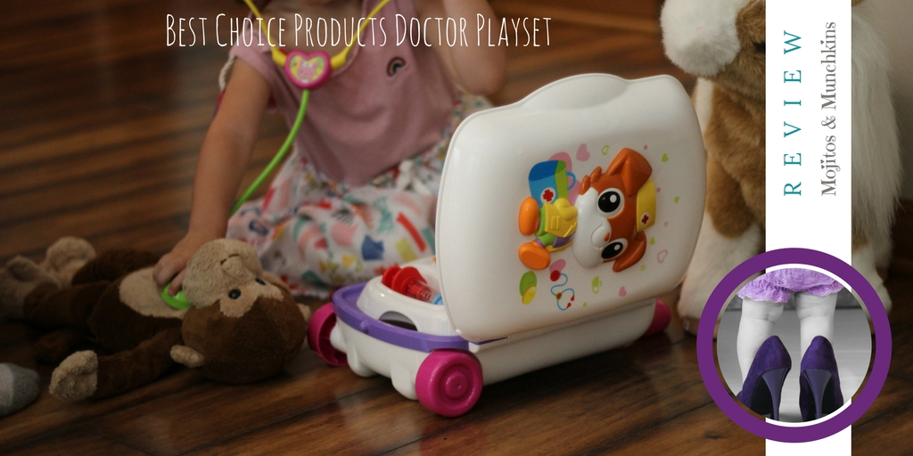 Review:: BCP Toy Kids Pretend Doctor Playset Suitcase W/ Medical Kit, Music, and Sounds