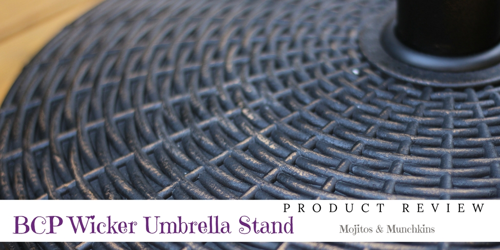Review:: Best Choice Products Wicker Umbrella Stand