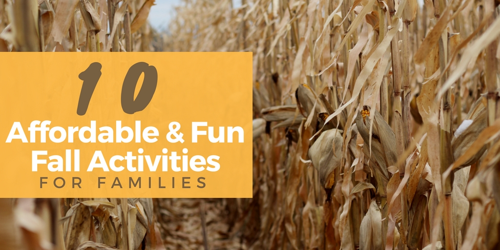 Fall Activities Can Be Affordable and Fun