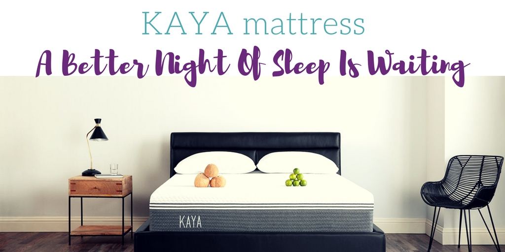KAYA Mattress: A Better Night of Sleep is Waiting
