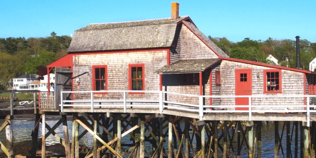 Visiting Burnt Island Lighthouse in Boothbay, Maine