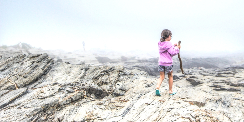 Family Travel: Arriving in Maine
