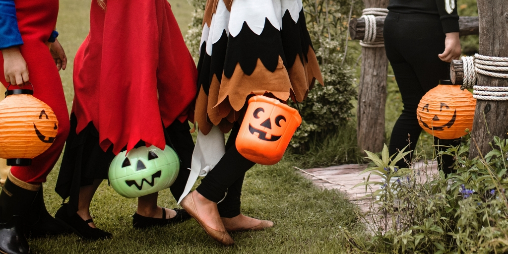 Trick-or-Treating: See Our Costumes!